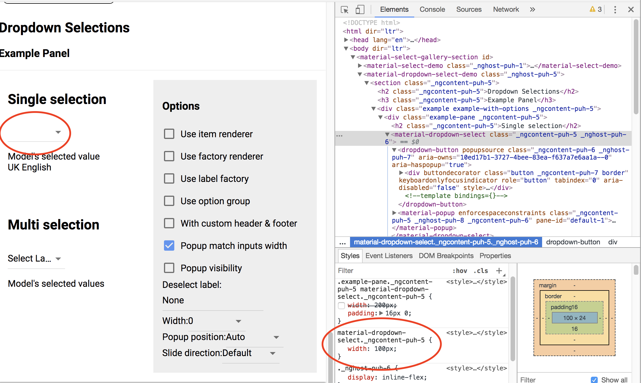 material-dropdown-select css width no effect on 0 9 0-alpha+3
