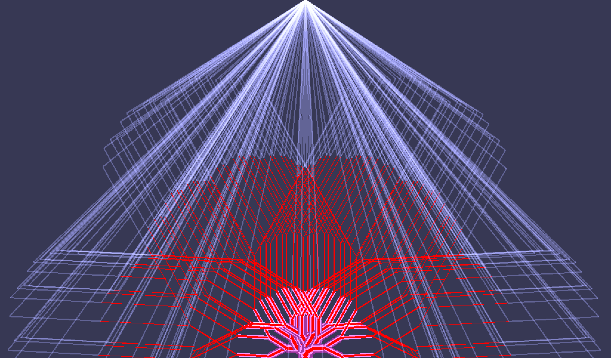 Fractal Trees in Go, rendered by the pixel package · GitHub
