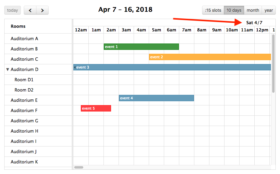 alpha3] timeline headers and event titles are not sticky