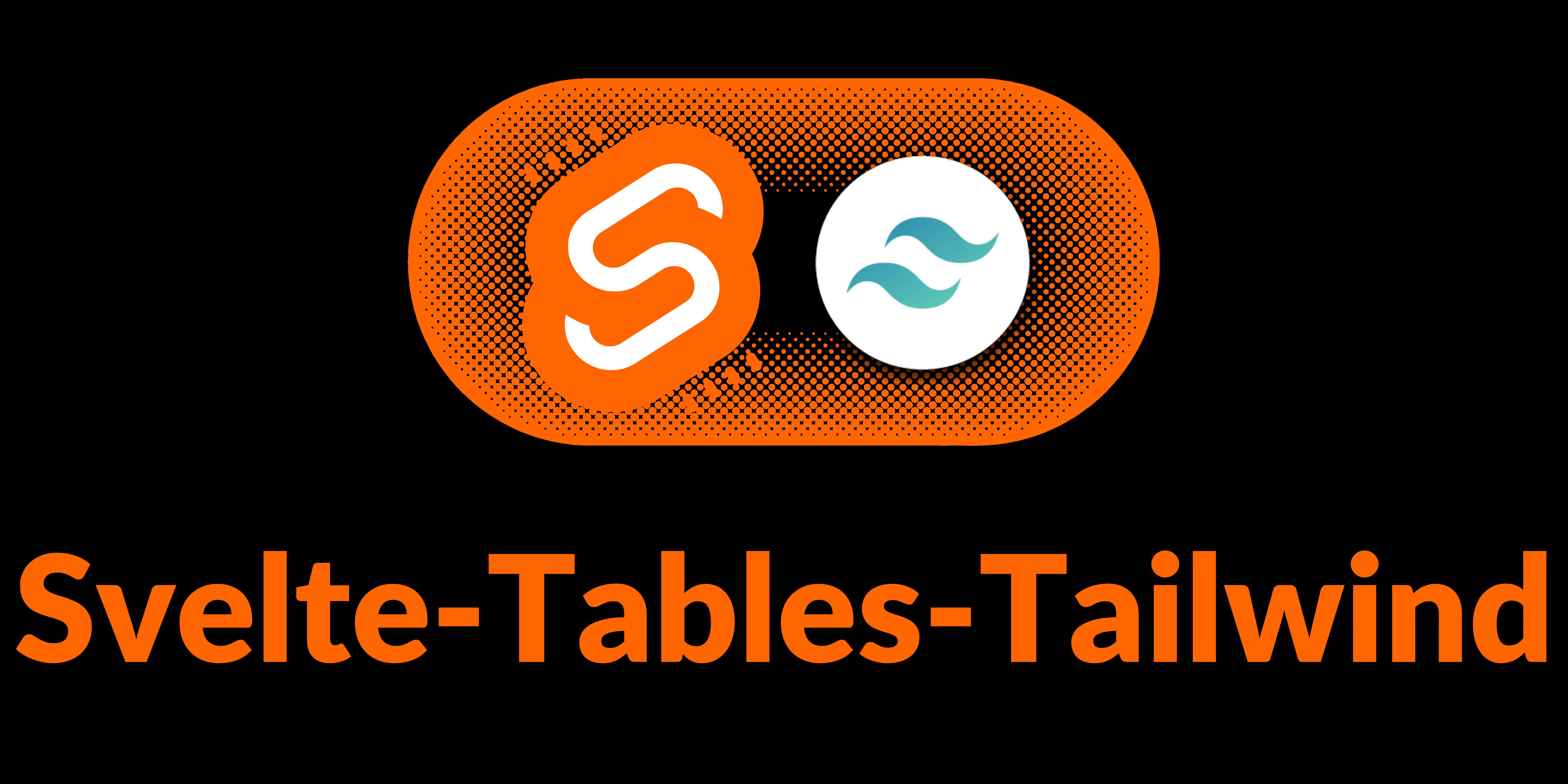 Svelte-Tailwind-Table