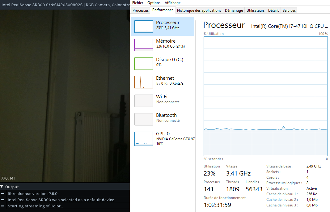 python wrappers is consuming 100% of my CPU · Issue #979