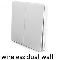 wireless dual wall switch