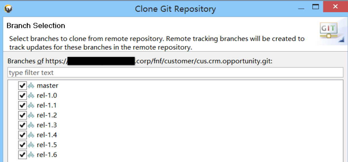 how to avoid transport error when cloning project in Eclipse