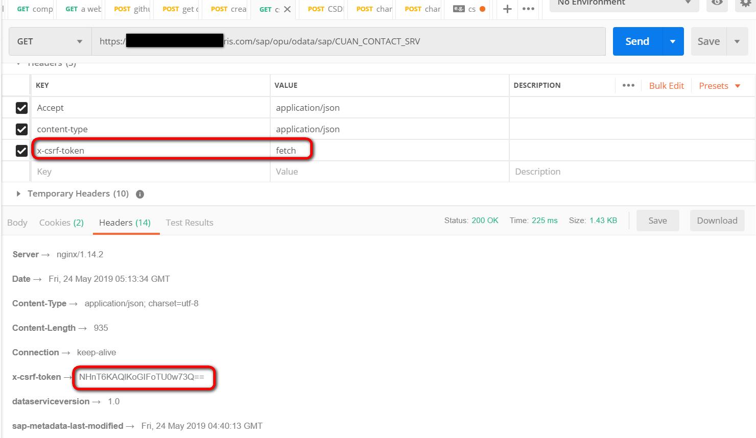 SAP gateway CSRF token的获取调试办法- SAP资深技术专家Jerry Wang的