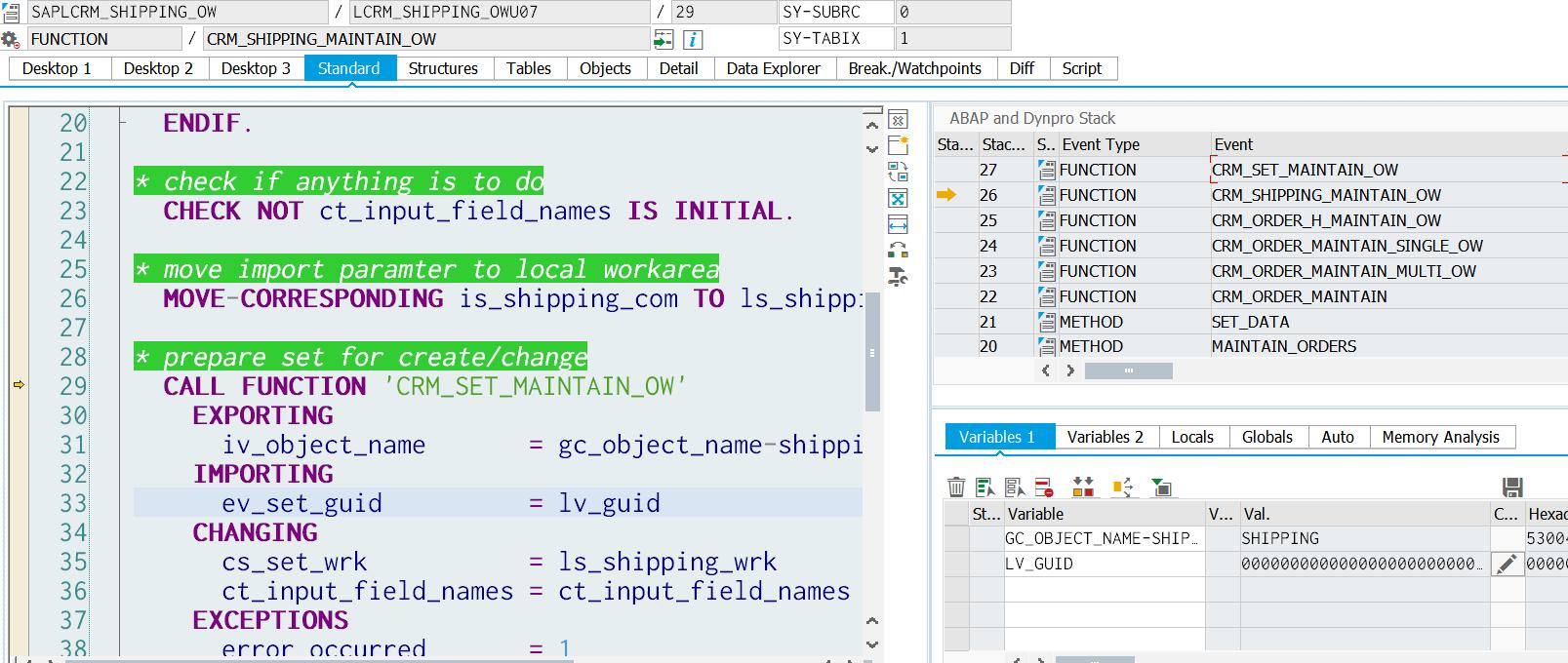 SAP CRM One Order shipping set的两步创建步骤- SAP资深技术