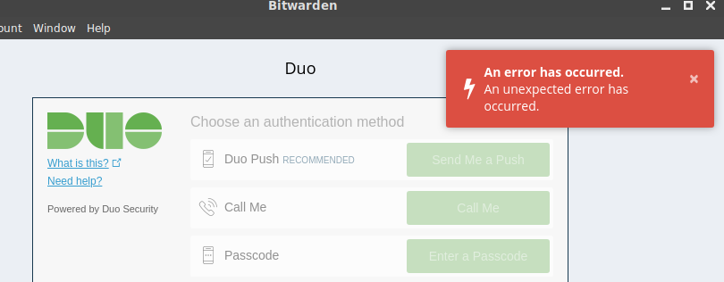bitwarden_rs - Bountysource