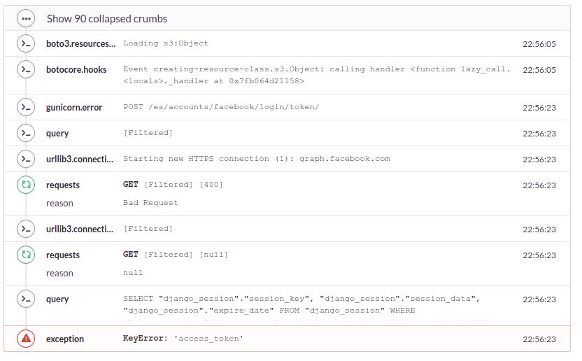 KeyError: 'access_token' for Facebook login · Issue #1382