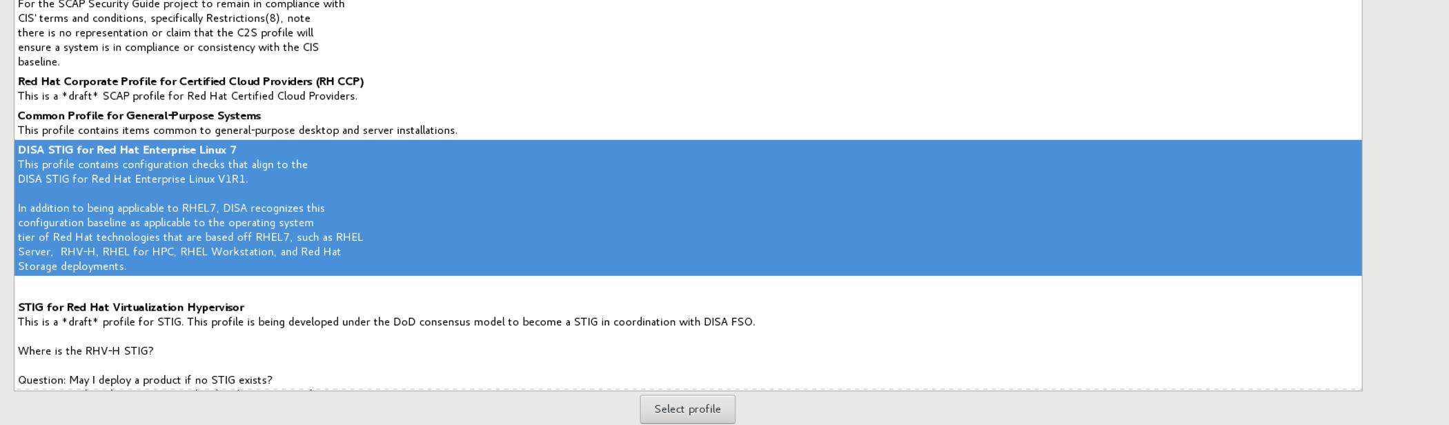 rhel 7 5 beta: update DISA STIG version · Issue #2568