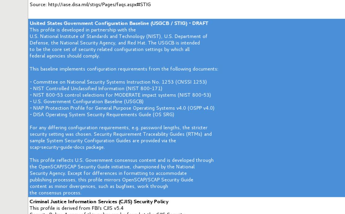 rhel 7 5 beta: usgcb no longer draft, needs updated