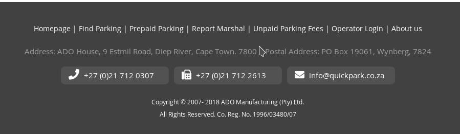ado address and info