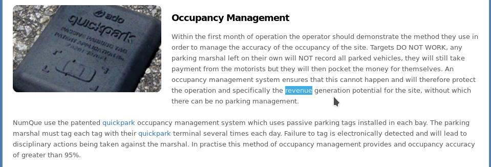 sensor occupancy management