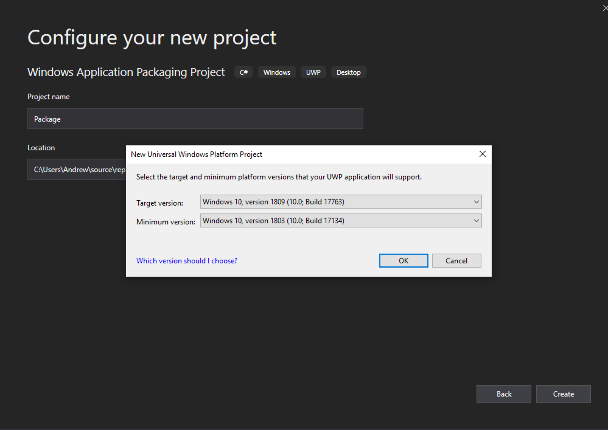 Creating packages with custom  appinstaller file, the