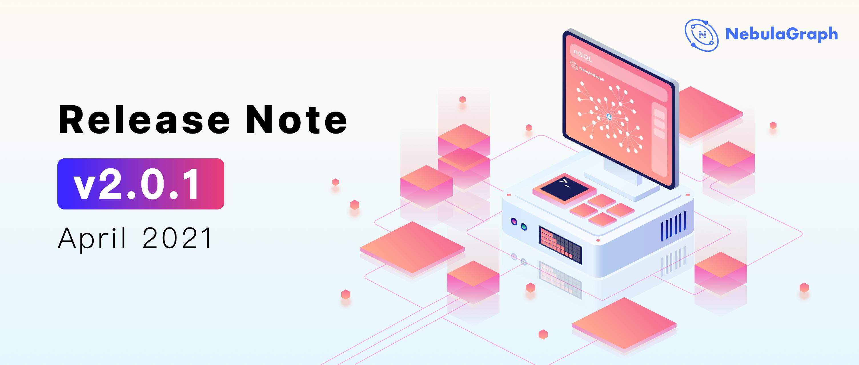 v2.0.1 Release note