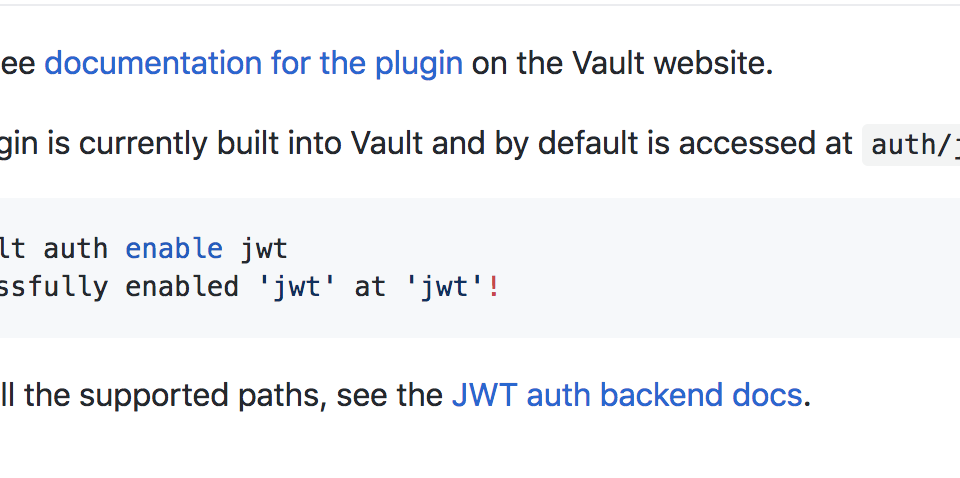 Broken link in the README md · Issue #5 · hashicorp/vault