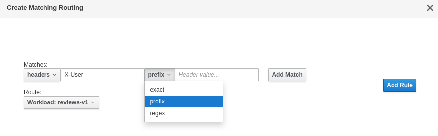 Feature request: Allow routing based on presence of headers · Issue