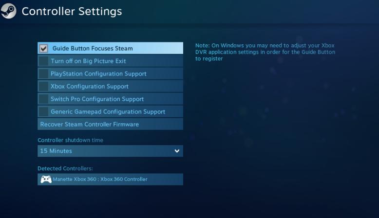 Tekken 7 Controller doesn't work  · Issue #1119 · ValveSoftware