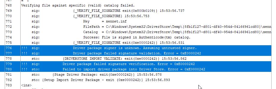 XCP-ng Windows PV-Drivers 8 2 2 · Issue #181 · xcp-ng/xcp