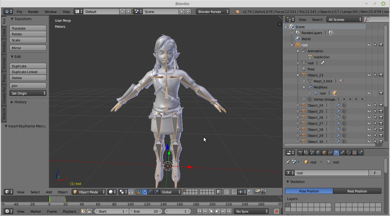 Skeleton not exported · Issue #59 · KhronosGroup/glTF-Blender-IO
