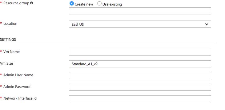 Azure-arm: Add public key authentication to OS profile