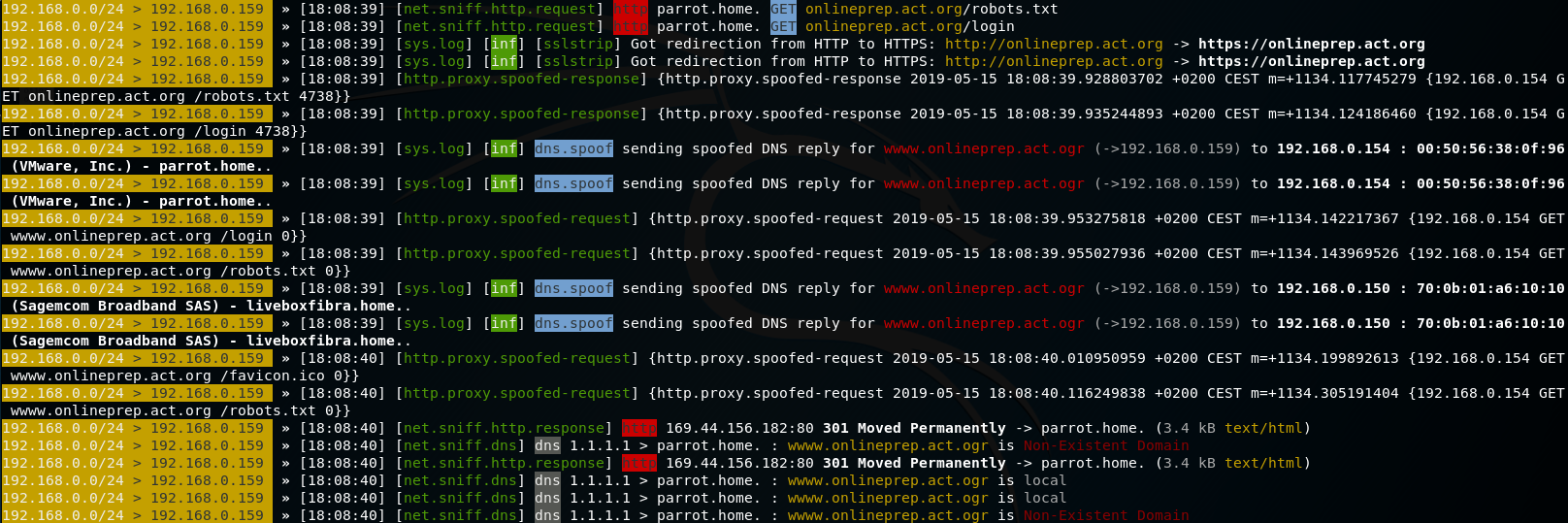 sslstrip not working as in 1 x / http proxy refactoring · Issue #428