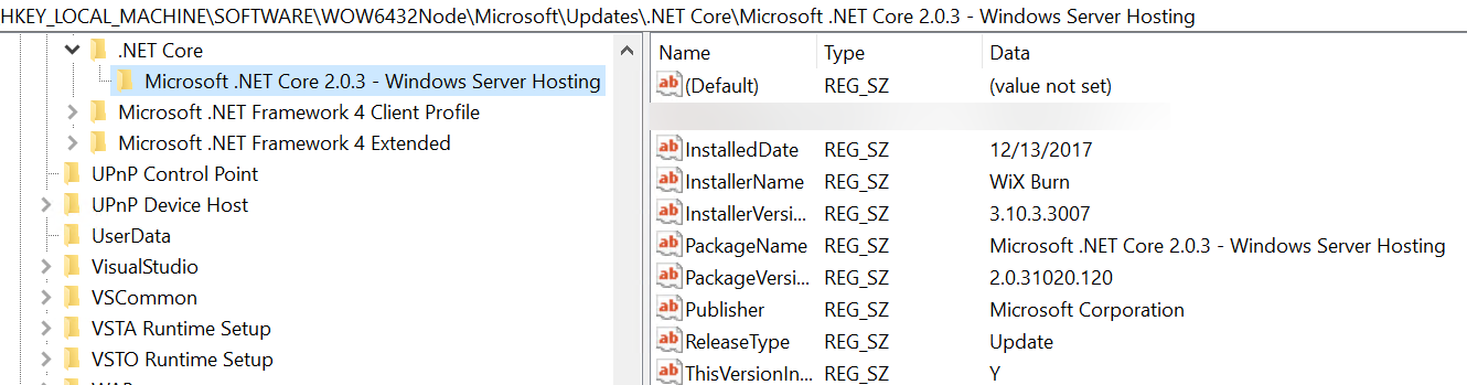 Detecting if  Net Core Runtime is installed · Issue #3381