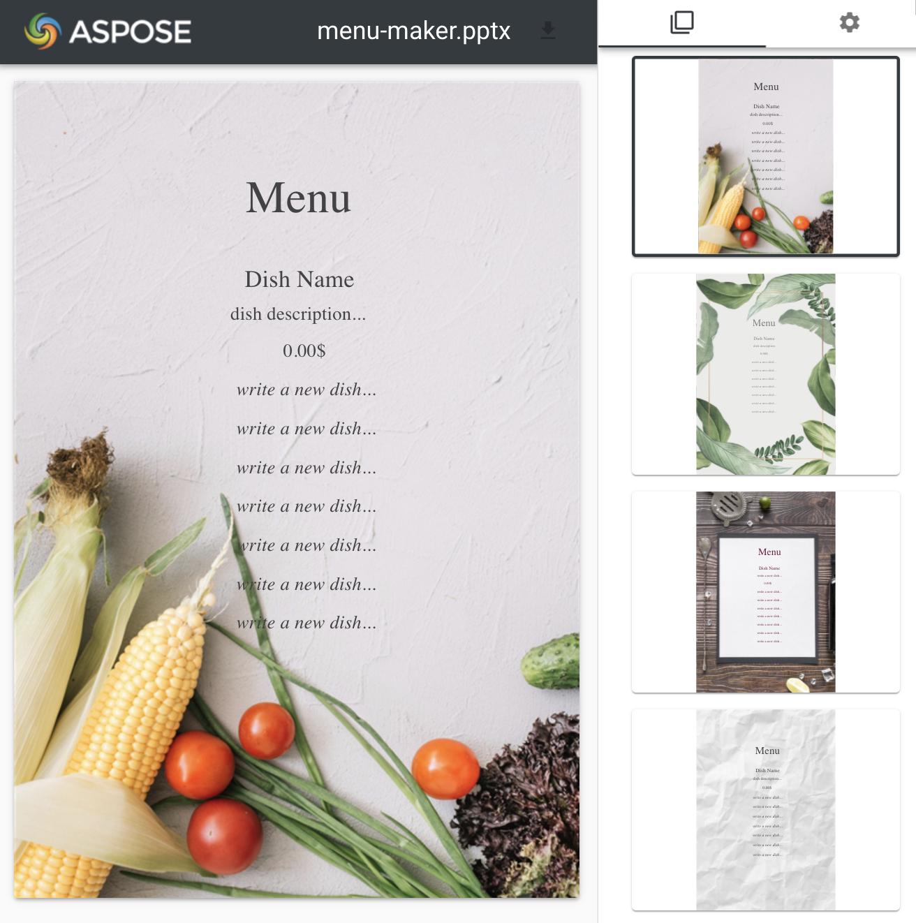 Aspose.Slides for .NET