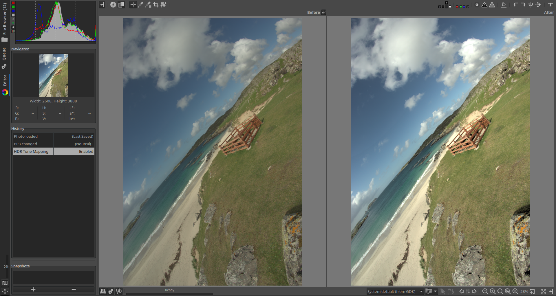 Does HDR Tone Mapping start too aggressively · Issue #4280