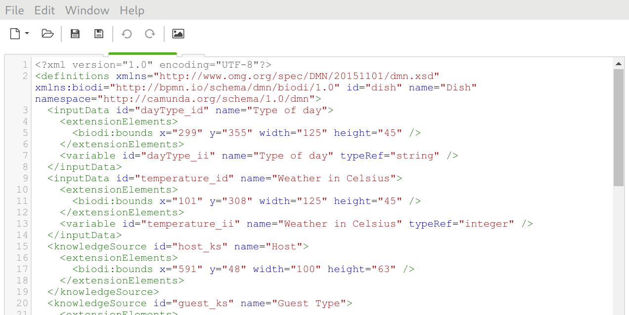 Fix XML editor layouting bug · Issue #1029 · camunda/camunda