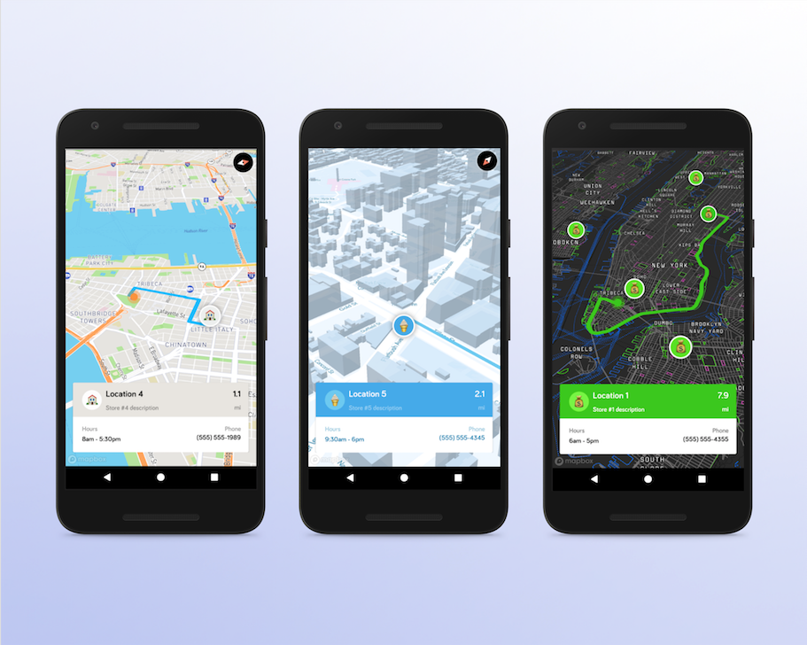 Location finder app for android phones