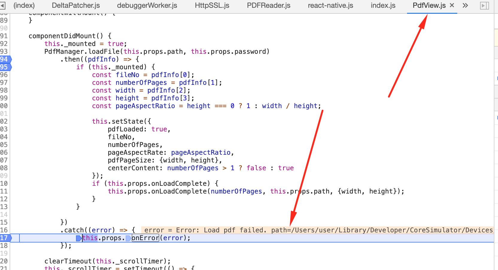 iOS simulator base64 problem load · Issue #361 · wonday