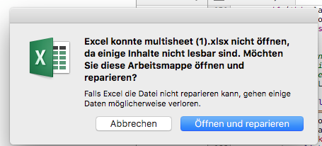 Downloaded xlsx files trigger error/corrupt message on *Mac