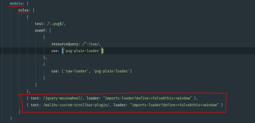The right way to use Malihu Custom Scrollbar on Laravel · Issue #635