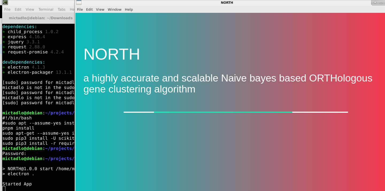NORTH-app only shows progress bar · Issue #1 · nibtehaz