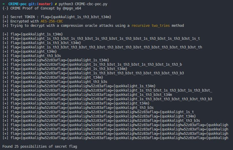 GitHub - mpgn/CRIME-poc: CRIME attack PoC : a compression oracle