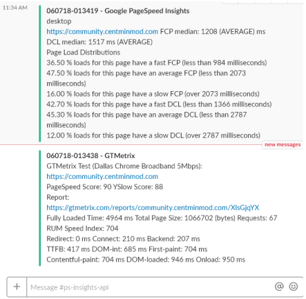 tool recommendation - WPT, GTMetrix & PageSpeed Insight