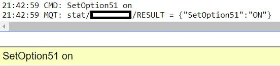 """Geekcreit/""""Sonoff"""" 2CH SetOption51"""