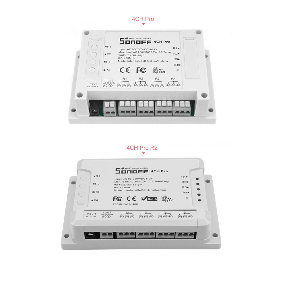 Sonoff 4CH Pro (R2)