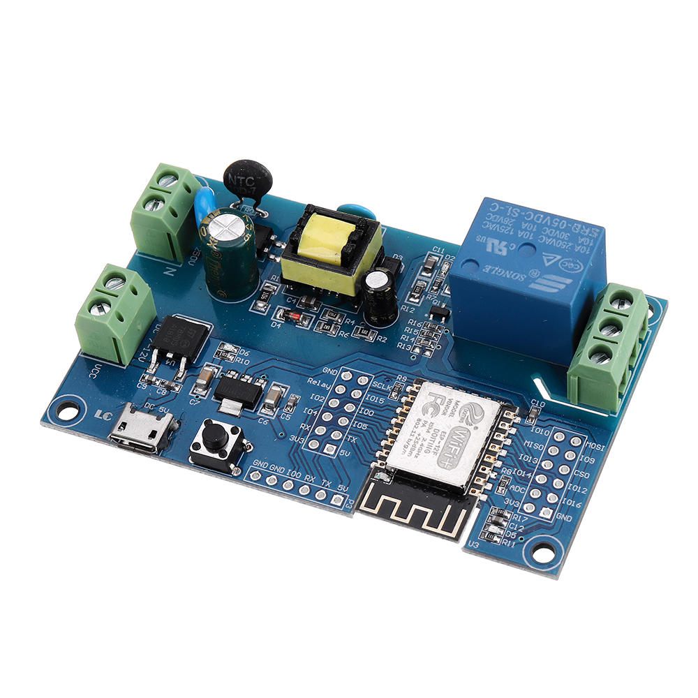 LC Technology AC/DC 1 Channel ESP-12F Dev Board