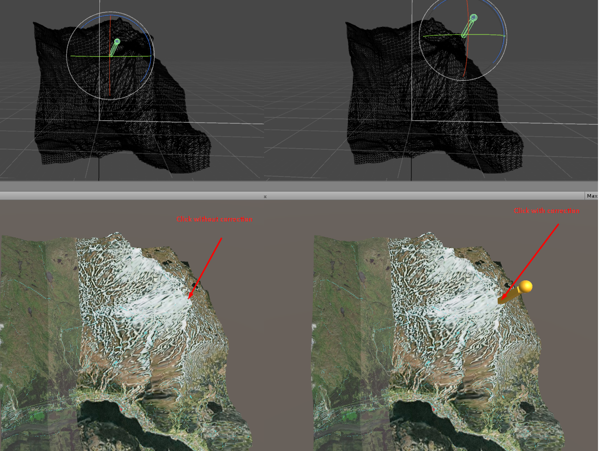 GeoToWorldPosition applies heightmap offset in wrong space