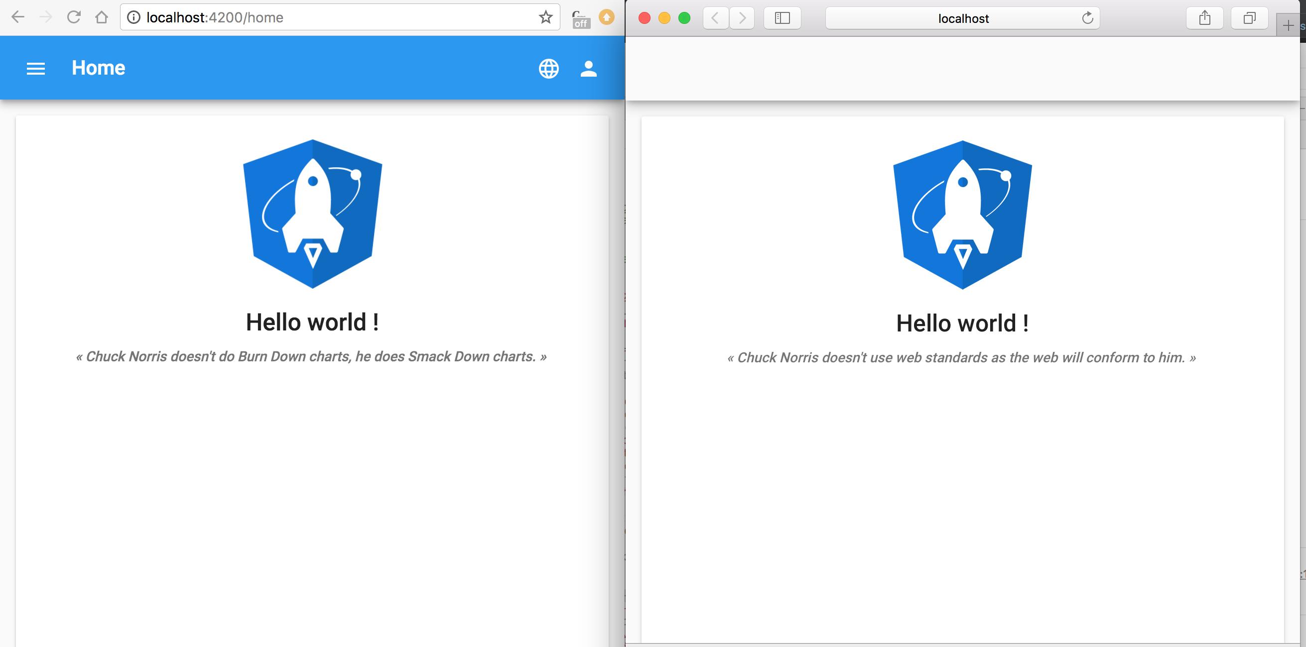 mat-toolbar does not display correctly on Safari, iOS simulator and