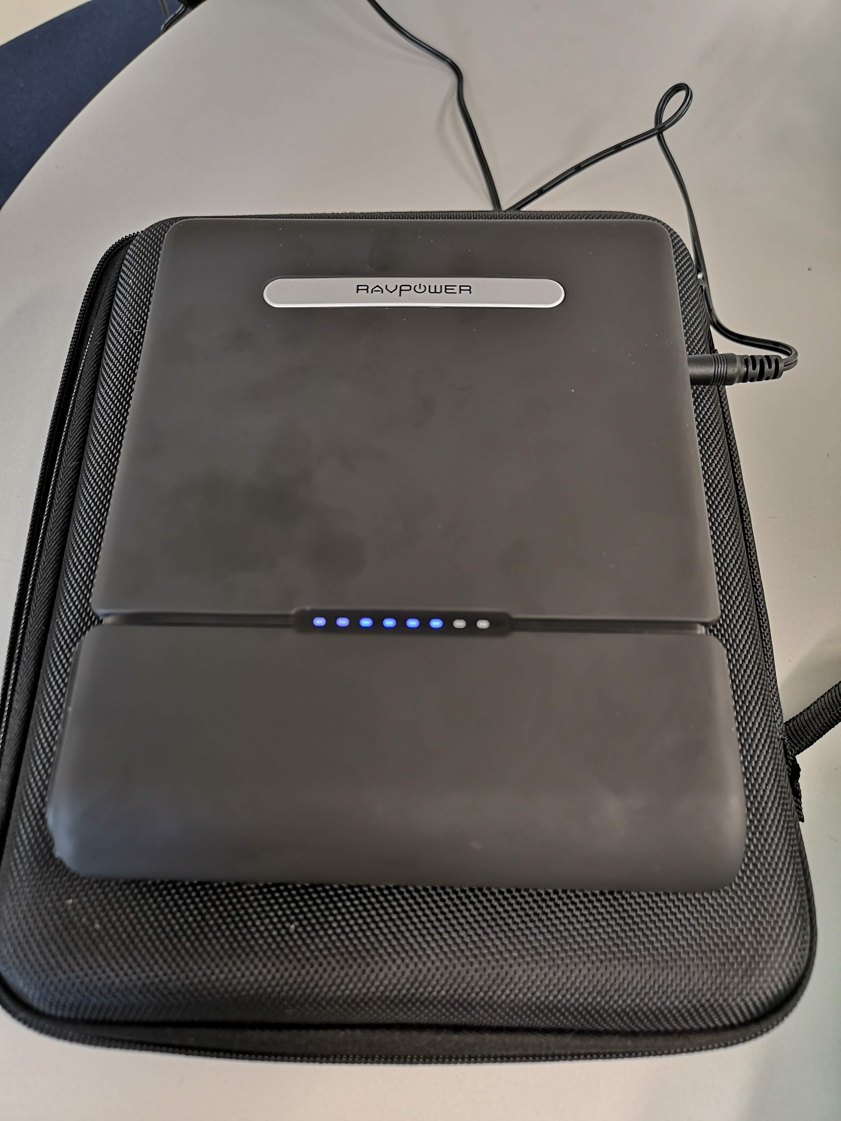 ravpower battery on charge