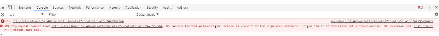Asp net core web api that returns File is throwing No