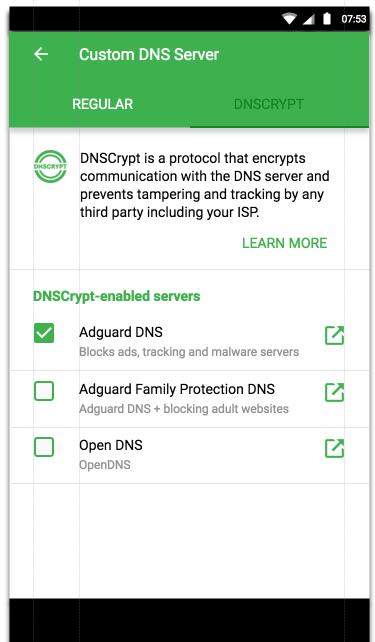 Improve DNS settings · Issue #1134 · AdguardTeam