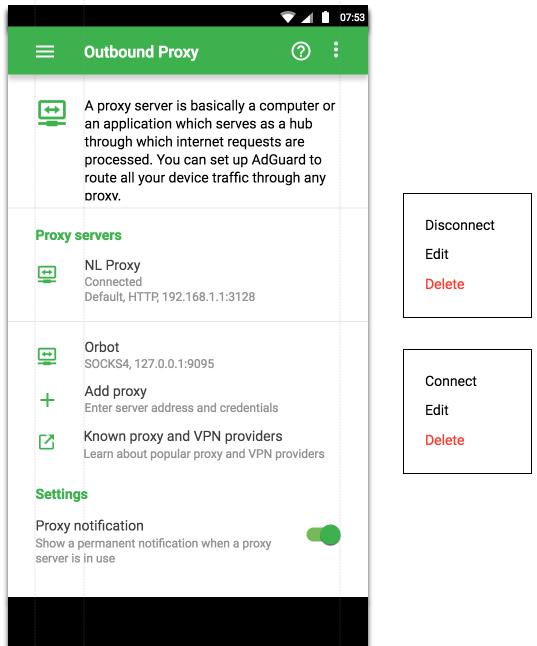 Proxy server list 53