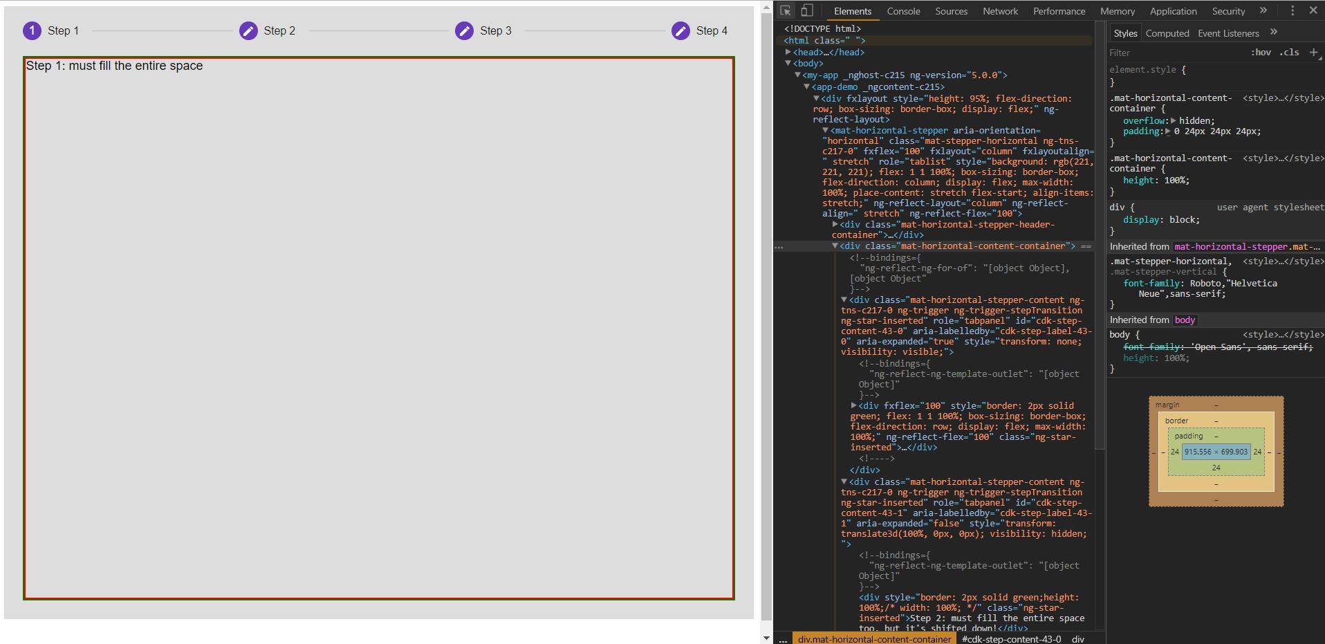 Mat-Stepper] A few suggestions · Issue #7700 · angular/components