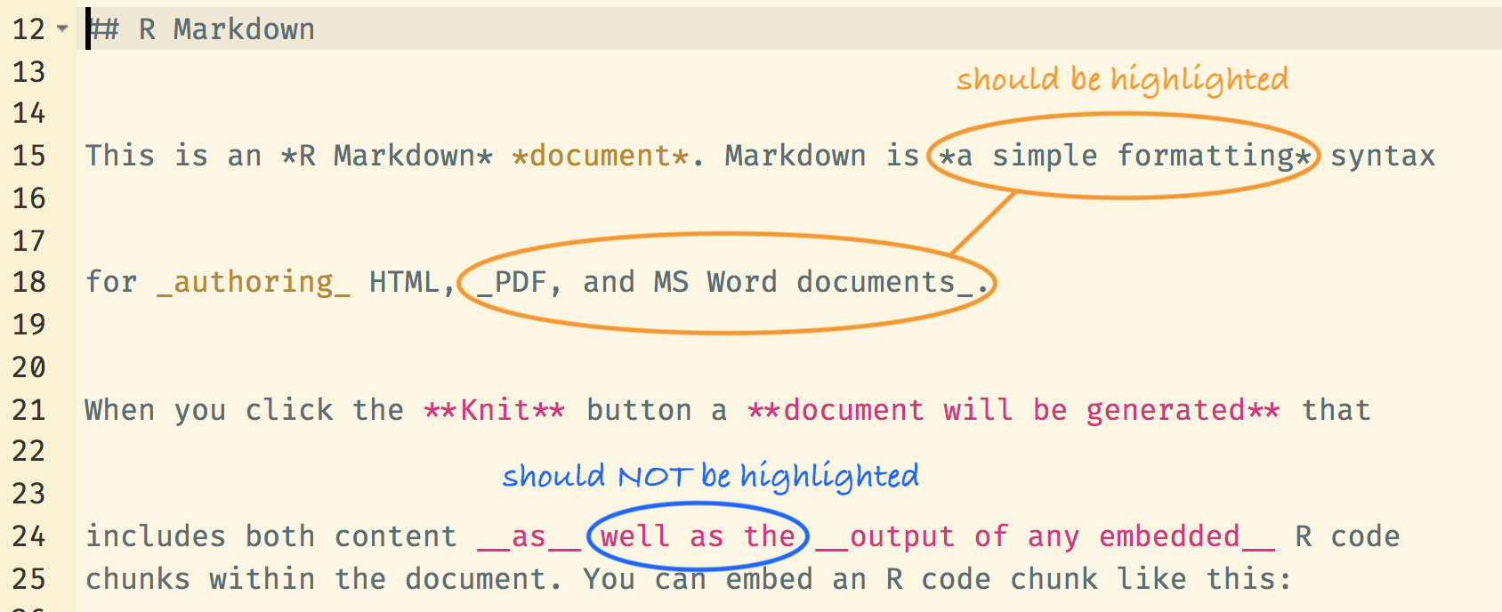 RMarkdown italic+bold highlighting is incorrect · Issue