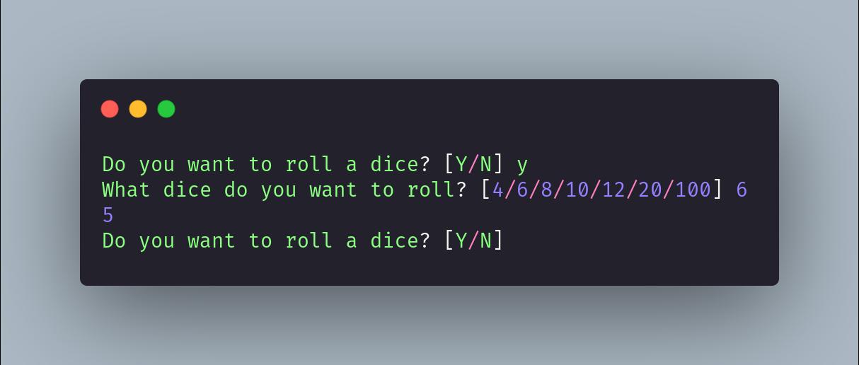 dice-simulator-terminal