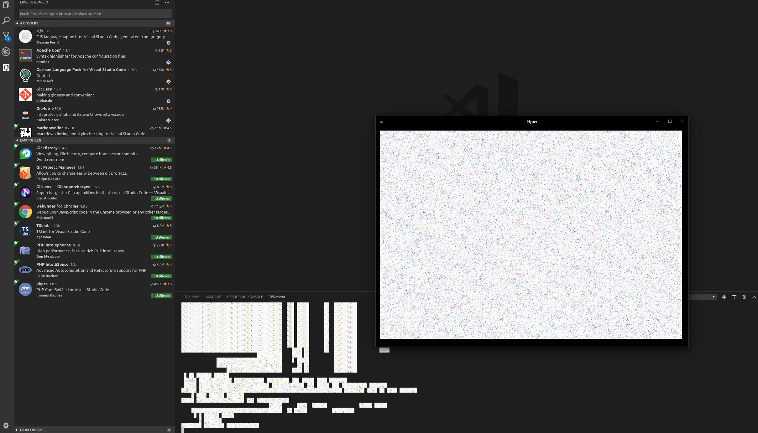 Broken text after system hibernation · Issue #2876 · zeit