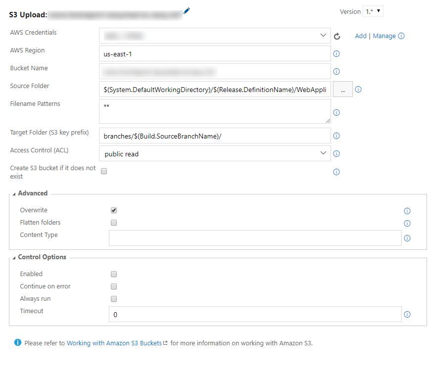 S3 Upload Task Bucket Does Not Exist Masking Ssl Certificate