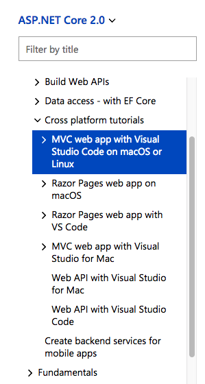 Why choose MVC tutorials over Razor Pages · Issue #6146